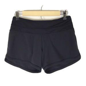 Lululemon Groovy Run Shorts Zipper Pocket Lined 4